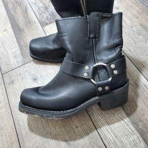 Harley Davidson el paso harness black boots